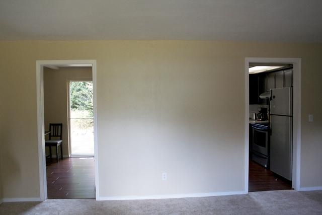 Kitchen Wall Pre Demo