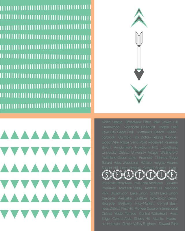Spring Mint Printables