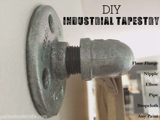 DIY Industrial Tapestry