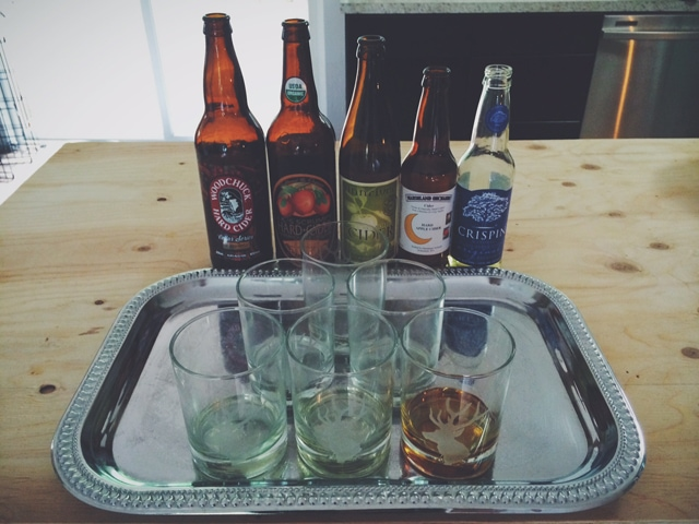Hard Cider Tasting for Father's Day