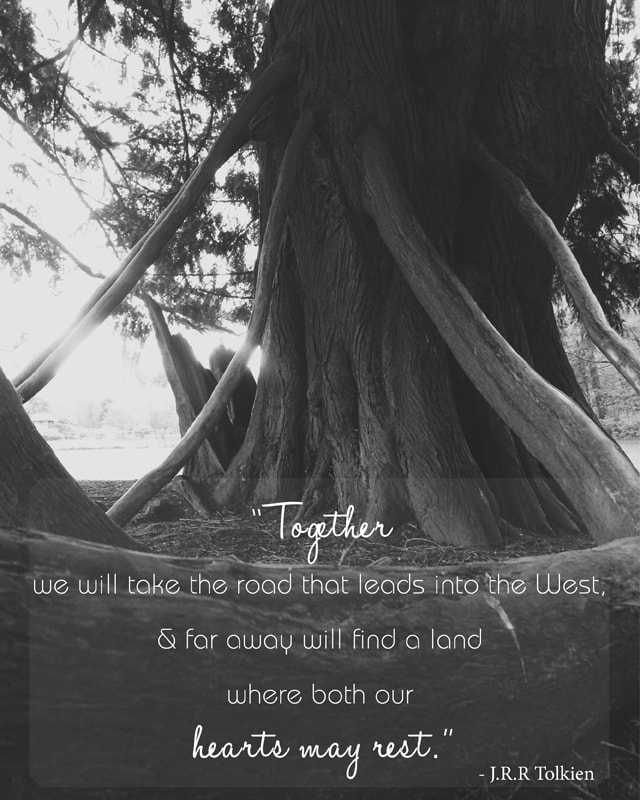 Tolkien Quotes: Petite Modern Life