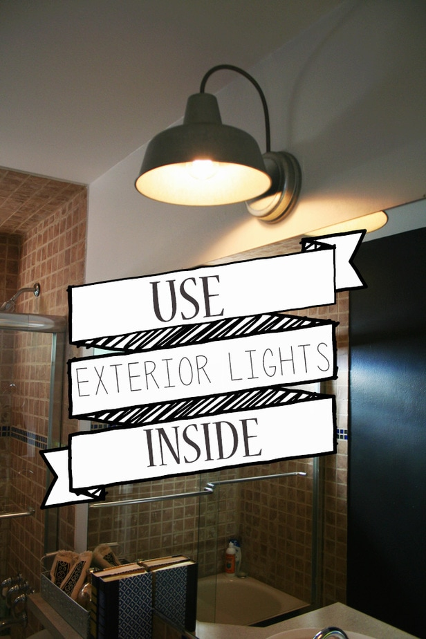 "Use ""Exterior Lights"" inside"