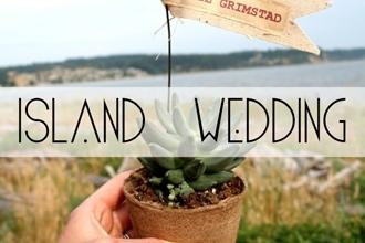 island weddin