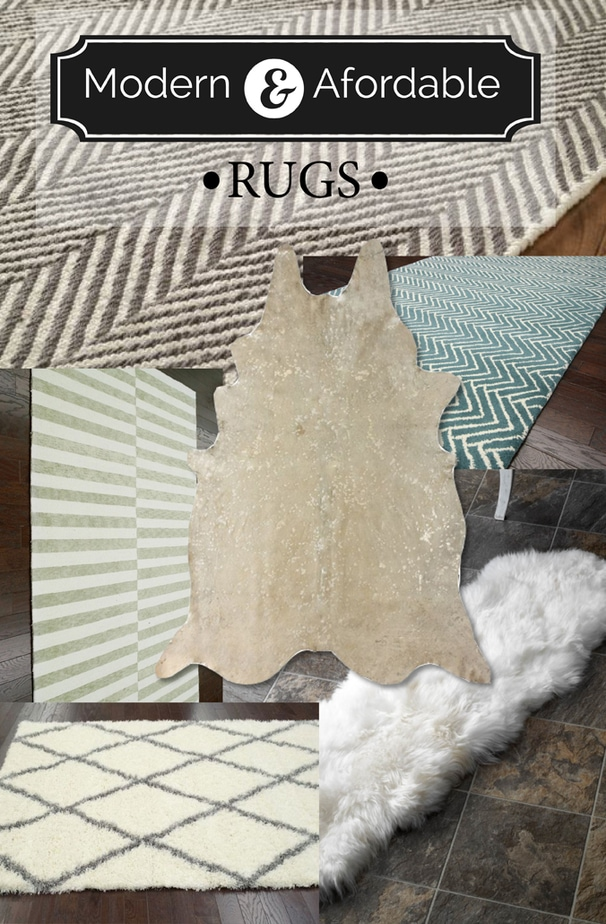 modern and affordable rugs