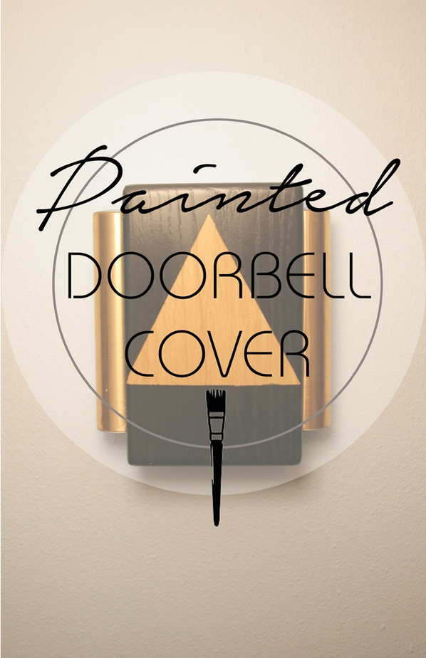 painted doorbell cover