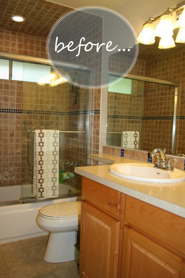Before | Extreme Bathroom Makeover | Petite Modern Life