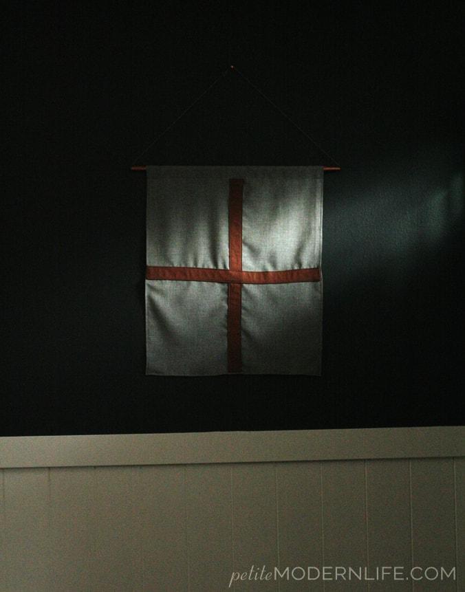 DIY Leather Cross Flag