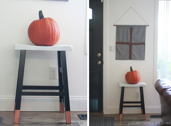 DIY Accent Stool