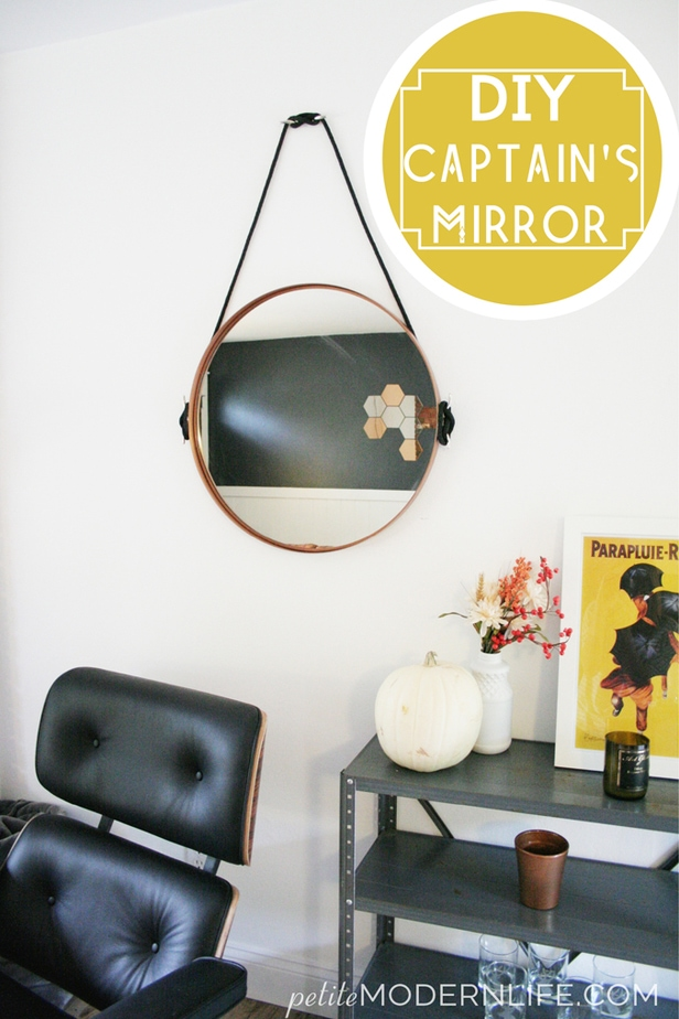 DIY Captain's Mirror