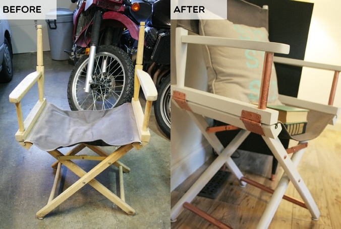 Director's Chair Before >/< After