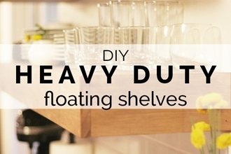 Heavy Duty Floating Shelves Petite Modern Life