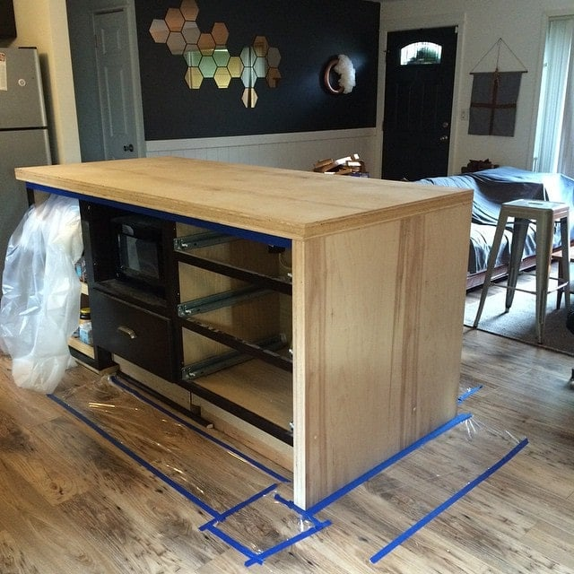 DIY Kitchen Island Part 2