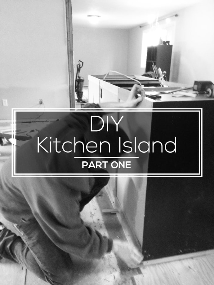 Awesome DIY Kitchen Island Remodel!
