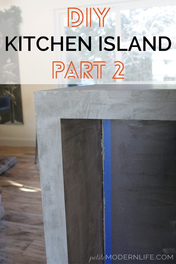 You can open up your kitchen without sacrificing counter space and cabinet storage with this DIY Island Tutorial!