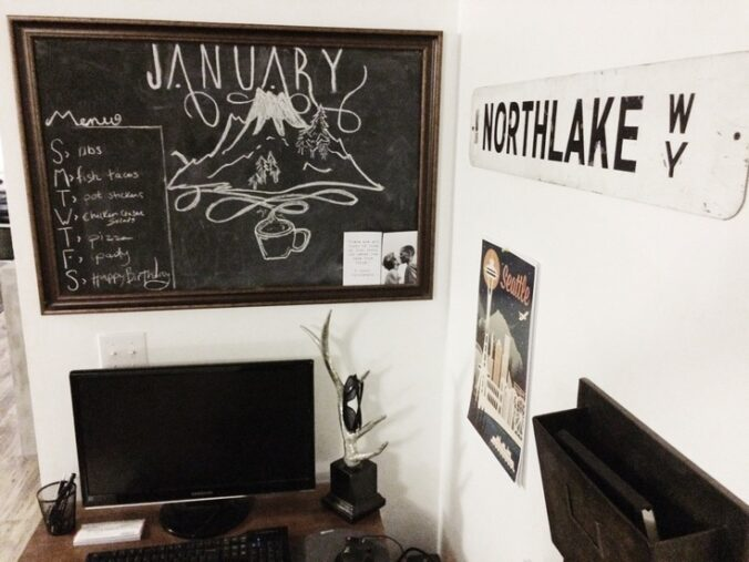 Chalkboard Art | Petite Modern Life