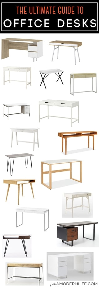 Petite modern life ivar system ikea cheat sheet petite modern - Modern Signature The Ultimate Guide For Office Desks Various Prices And Inspiration To Build Your Own