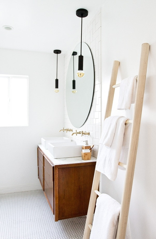 Smitten Studio // Sarah Sherman Samuel // Bathroom Update