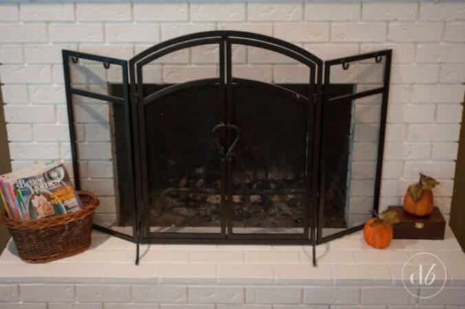 Dwell Beautiful Fireplace makeover