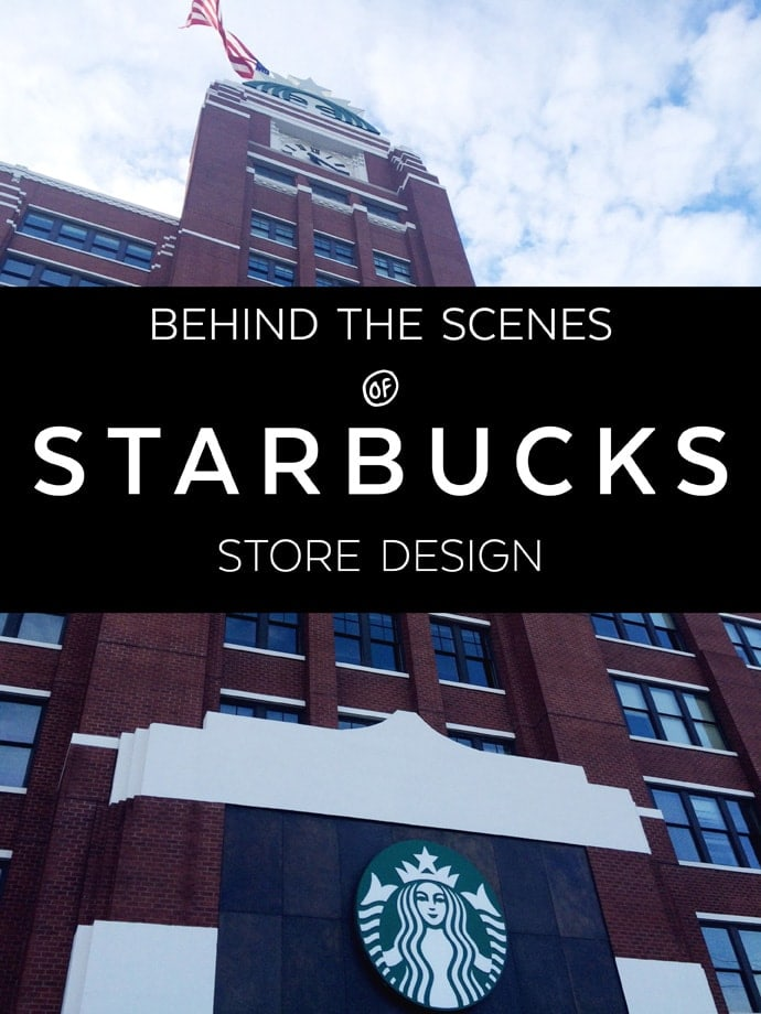 A cool behind the scenes look of how Starbucks designs their stores!