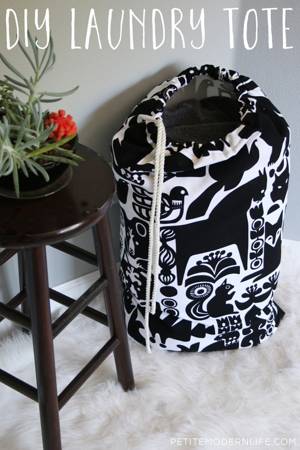 Marimekko Fabric Laundry Tote