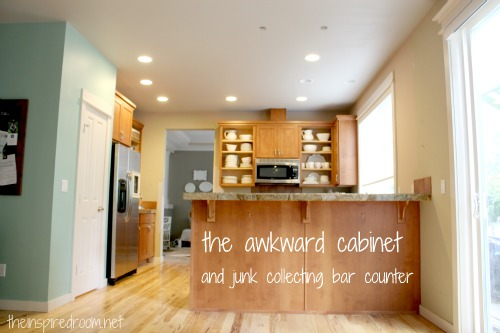 Kitchen Before/After by Melissa Michaels // The Inspired Room