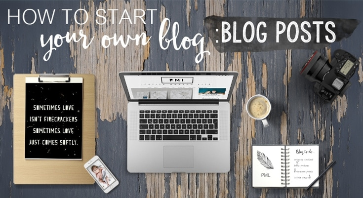 """This technical, step by step """"How to Start Your Own Blog"""" series provides the knowledge you need to begin a strong and beautiful blog."""