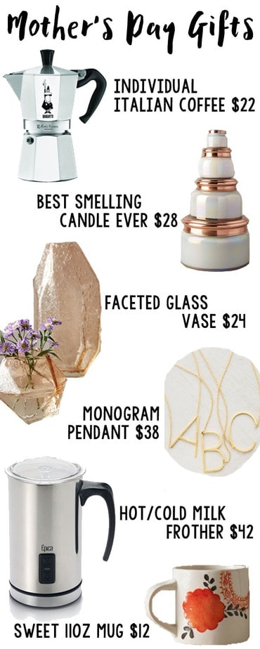 Sweetest Mother's Day Gift Ideas | Petite Modern Life