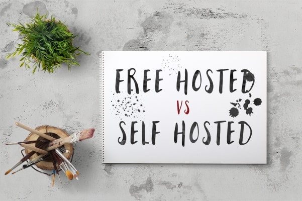 self hosted vs free hosted