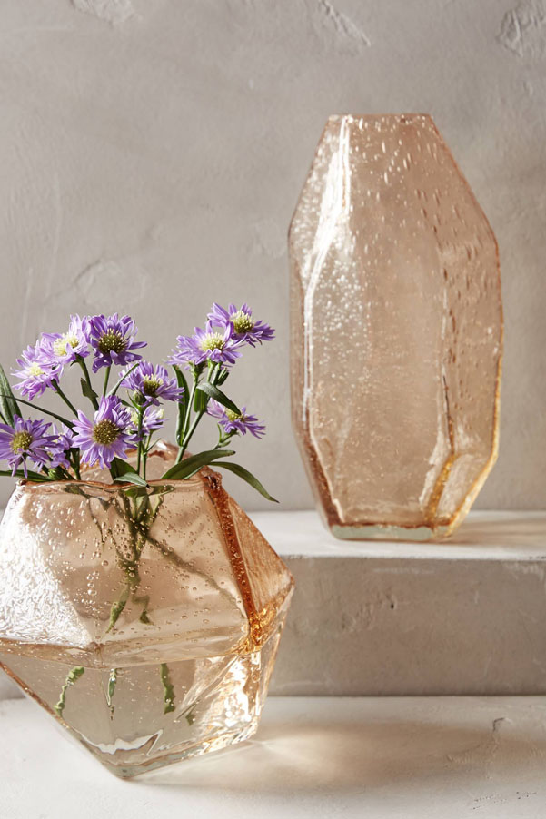 Mother's Day gifts 2016 | faceted vases | Petite Modern Life