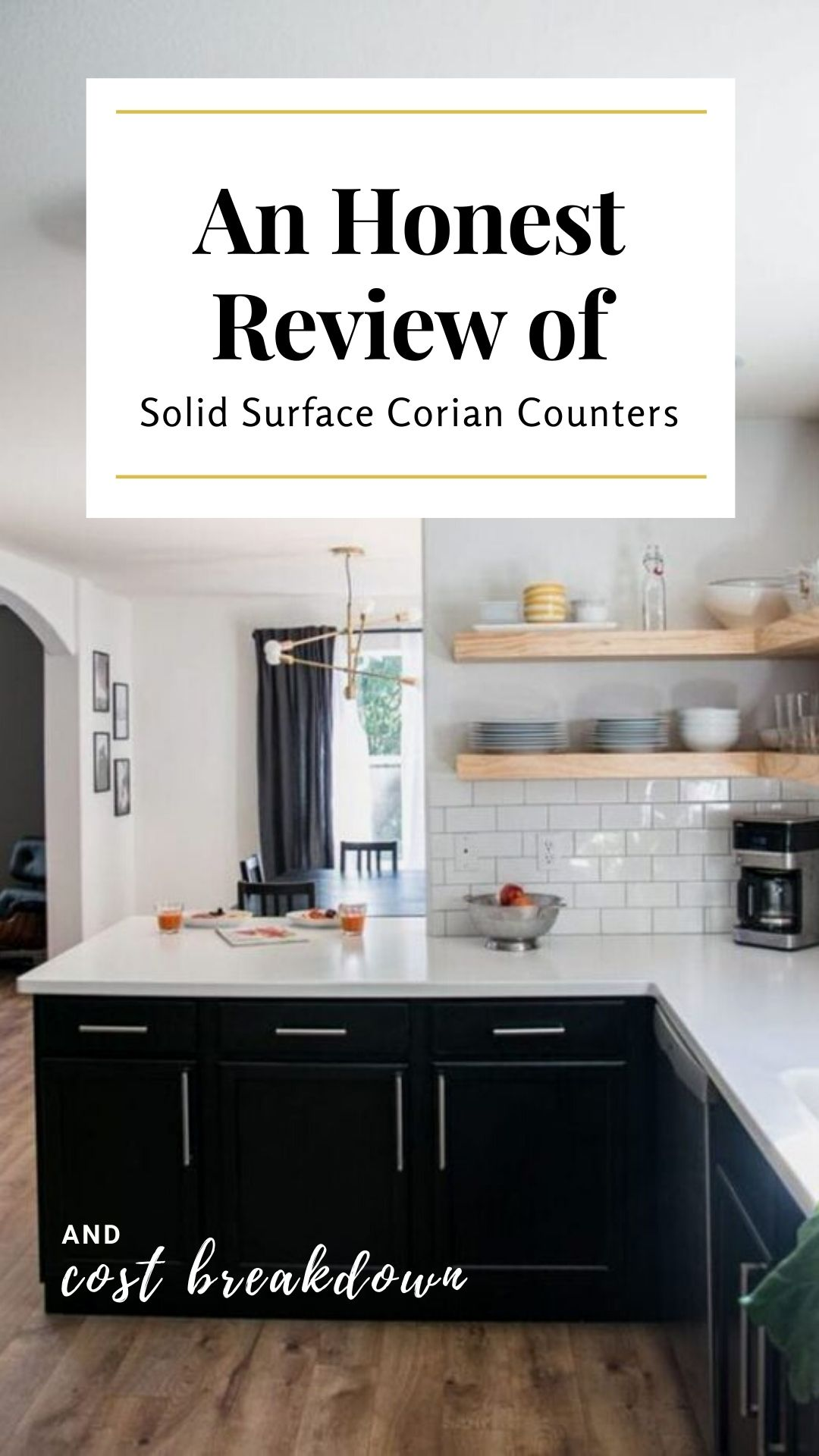 Review of Solid Surface Corian Counters