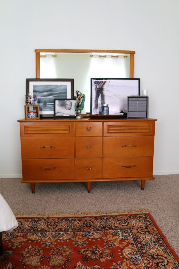 Dressing your Dresser: Midcentury decor | Petite Modern Life