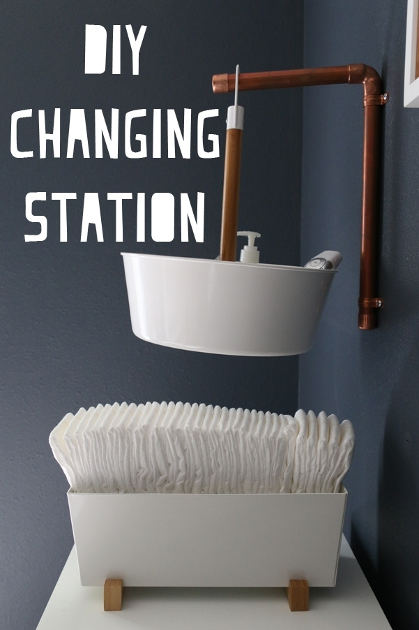 Awesome modern DIY Changing Station