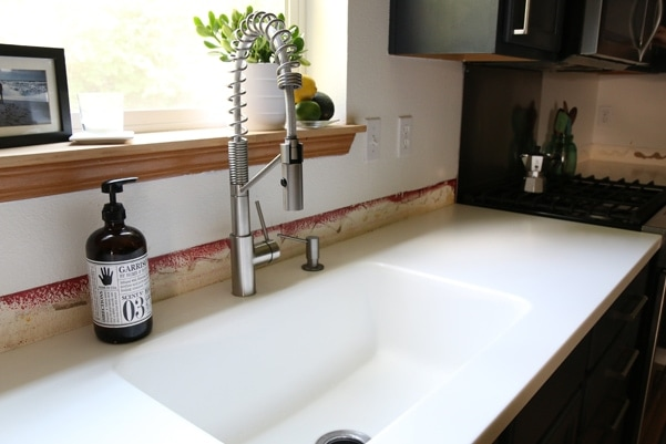 Reviewing the cost and quality of our Solid Surface Counters (or Corian counters) |Petite Modern Life