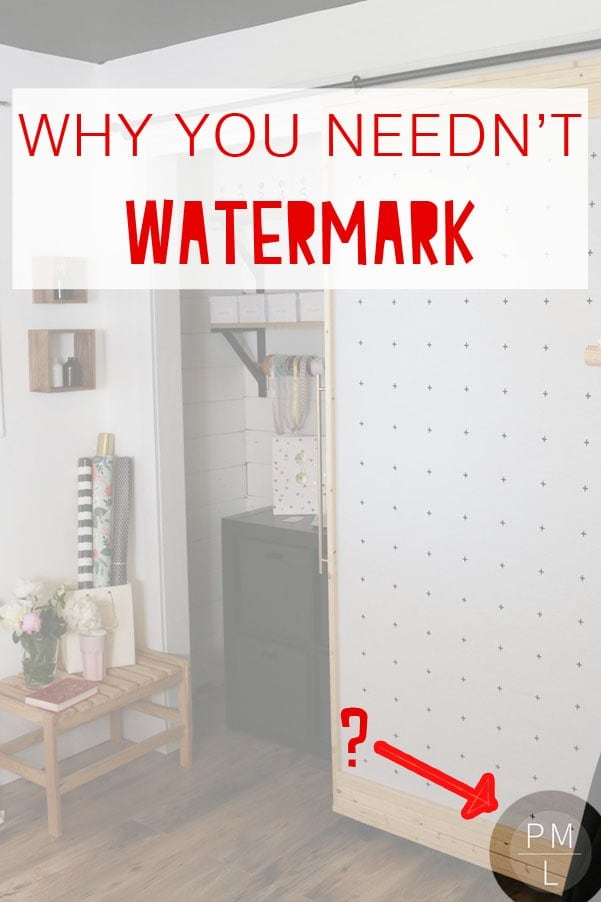 Do you need to watermark your blog photos? Find out here.