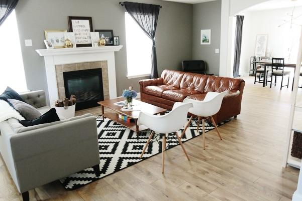 Living Room Costco Laminate floors Costco flooring
