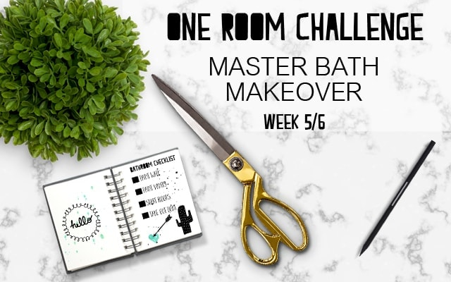 Master Bath Makeover 5/6: The Final Touches