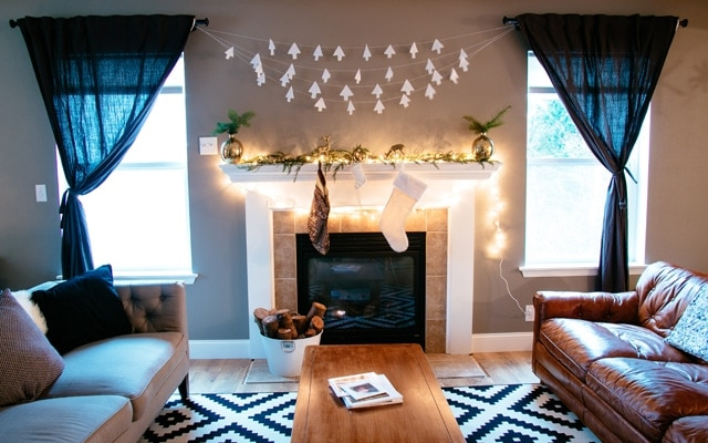 Scandinavian Inspired Christmas Decor