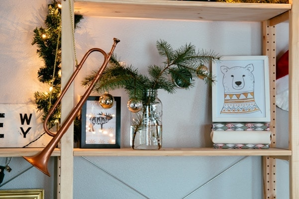 Scandinavian Inspired Christmas Decor | Petite Modern Life
