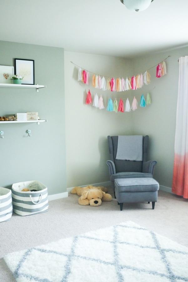 Modern minimal nursery as part of Nursery Week on Petitemodernlife.com