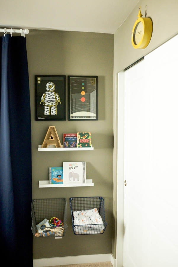 Modern minimal nursery as part of Nursery Week on Petitemodernlife.com