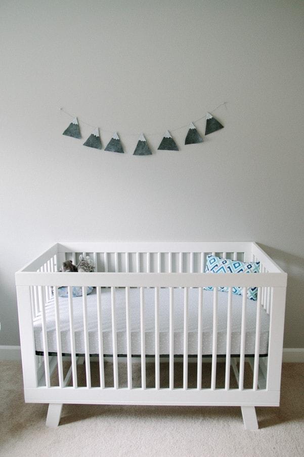 Mountain Themed Nursery as part of Nursery Week on Petite Modern Life