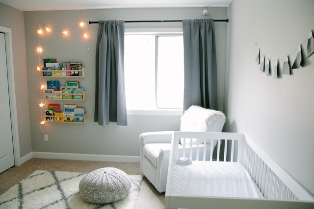 Mountain Themed Nursery as part of Nursery Week on Petite Modern Life