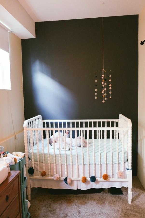 Modern Vintage Nursery as part of Nursery Week on Petitemodernlife.com
