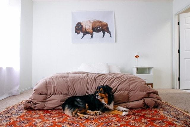 Neutral Calm Master Bedroom