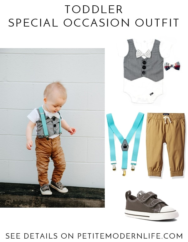 Toddler Special Occasion Outfit | Petite Modern Life