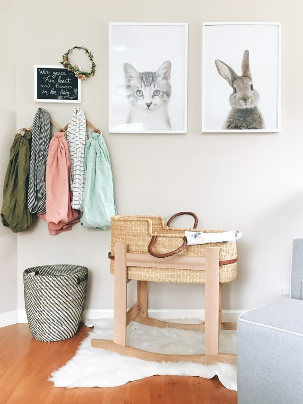 small living girl nursery
