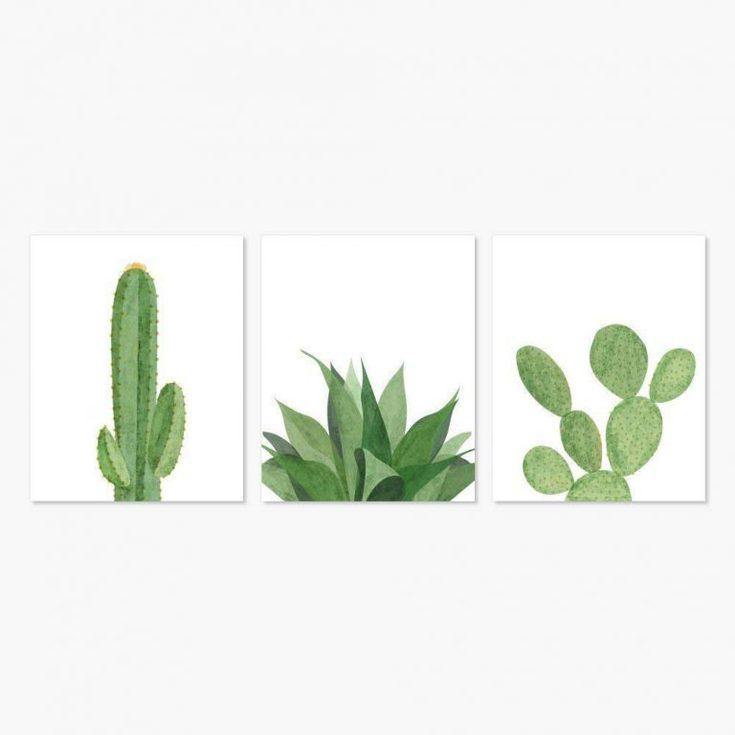 succulent artwork
