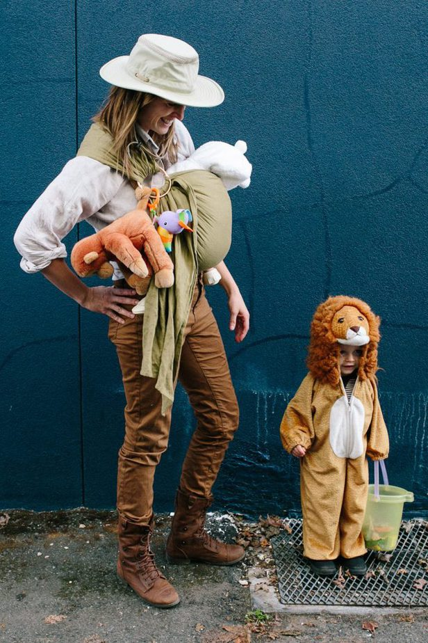 Family Zoo Halloween Costumes