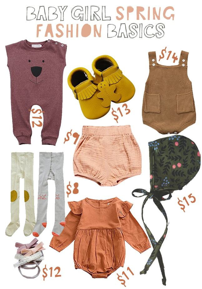 (Affordable) Spring Fashion for Toddler and Baby!