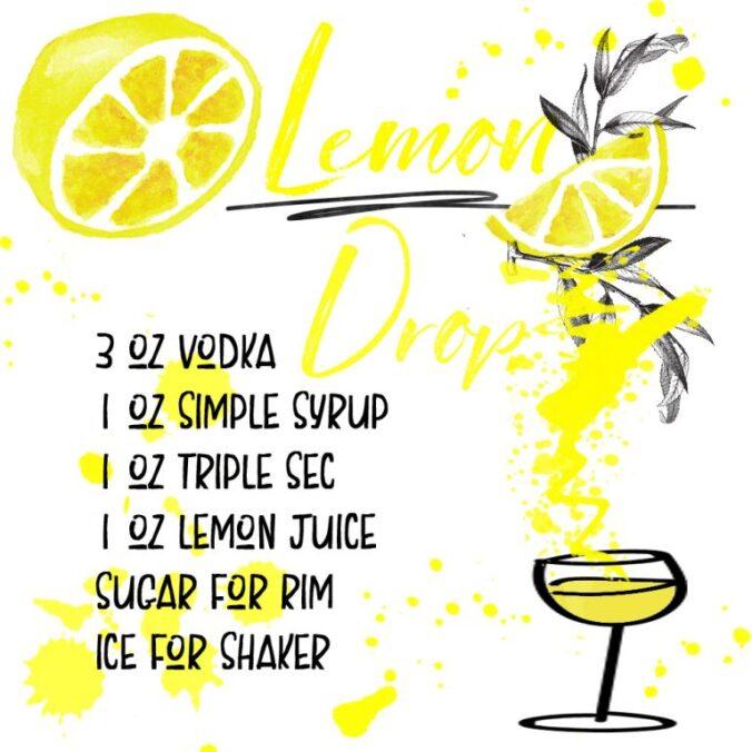date night in lemon drop